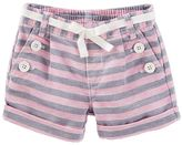 Osh Kosh Toddler Girl Striped Sailor Shorts