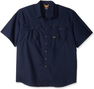 Ariat Men's Big and Tall Rebar Sleeve Work Shirt
