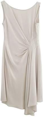 Karen Millen Ecru Viscose Dresses