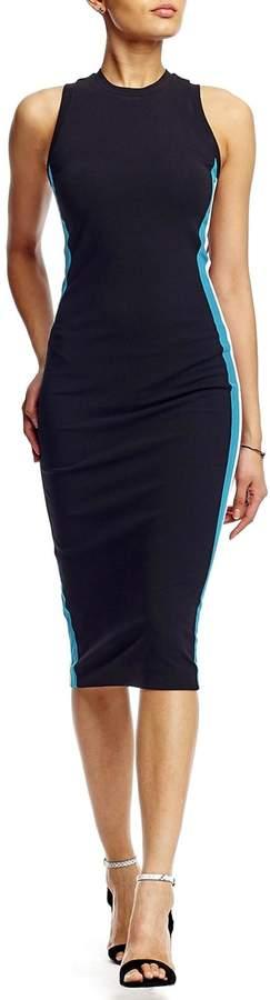 Nicole Miller Jersey Stripe Dress