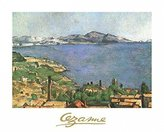 Cezanne 1art1 Posters: Paul Poster Art Print - The Marseilles Bay (12 x 9 inches)