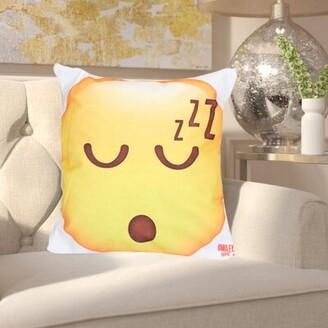 "Zoomie Kids Vanhoy 18"" Throw Pillow Cover"
