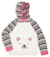 Design History Girl's Knit Hoodie