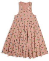 Stella McCartney Toddler's, Little Girl's & Girl's Zig Pineapple Print Organic Cotton Skater Dress