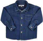 Nupkeet Long-Sleeve Button-Front Shirt-BLUE