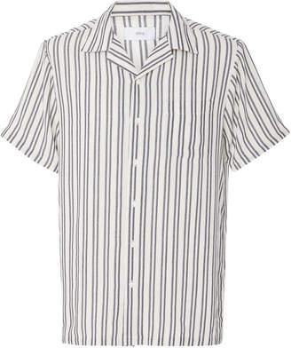 Onia Tulum Striped Voile Shirt