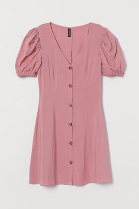 H&M Short viscose dress