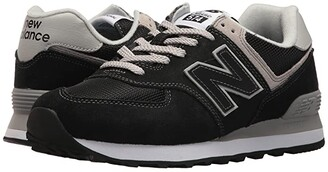 New Balance Classics WL574v2 (Black/White) Women's Running Shoes