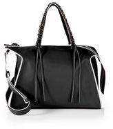 Elena Ghisellini Gabria Medium Leather Satchel