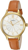 Timex Peyton Leather Strap Watches