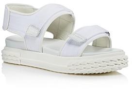 Giuseppe Zanotti Women's Blabber Grip-Tape Strap Sport Sandals