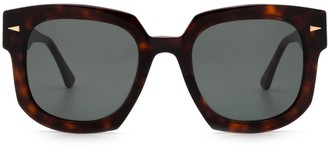 AHLEM Vivienne Light Turtle Sunglasses