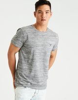 American Eagle Outfitters AE Flex Solid Crew T-Shirt
