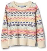 Gap Fair isle crew sweater