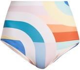 Mara Hoffman Meridan-print high-rise bikini briefs