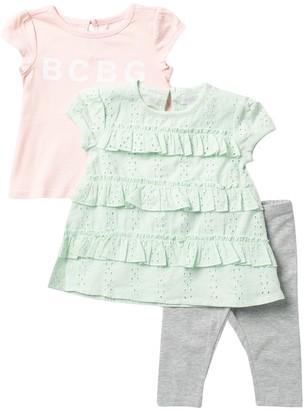BCBGirls Tee & Pants 3-Piece Set (Baby Girls)