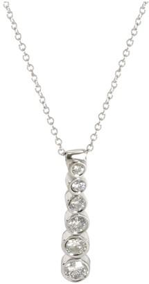 Tiffany & Co. Silver Platinum Necklaces