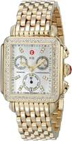 Michele Women's MWW06P000100 Deco Day Chronograph Dial Watch
