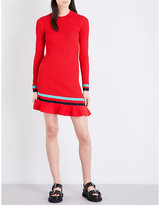 3.1 Phillip Lim Contrast stripe knitted dress