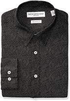 Nick Graham Everywhere Men's Allover Dot Print Dress Shirt