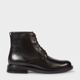 Paul Smith Women's Black Calf Leather 'Chesil' Boots