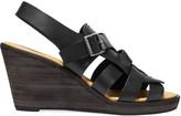 MM6 MAISON MARGIELA Leather wedge sandals