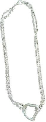 Saint Laurent Silver Silver Necklaces