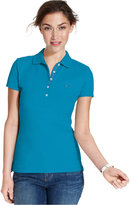 Tommy Hilfiger Short-Sleeve Polo Top, Only at Macy's