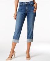 NYDJ Dayla Tummy-Control Capri Jeans
