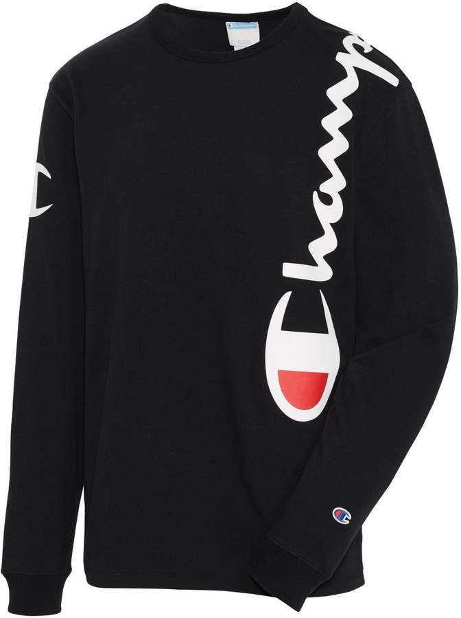 Champion Heritage Long-Sleeve Cotton Tee