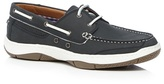 Maine New England Grey 'roux 2' Boat Shoes