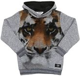 Molo Tiger Print Cotton Sweatshirt