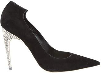 Christian Dior \N Black Suede Heels