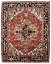 "Ecarpetgallery Hand-knotted Serapi Heritage Medallion Corners 8'1"" x 10'1"" 100% Wool area rug"
