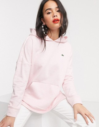 Lacoste hoodie in pink