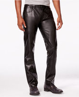 INC International Concepts Men's Lex Slim-Fit Faux Leather Pants, Only at Macy's