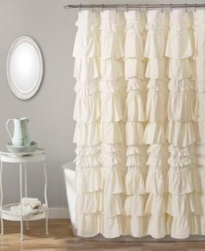 "Lush Decor Kemmy 72"" x 72"" Shower Curtain Bedding"