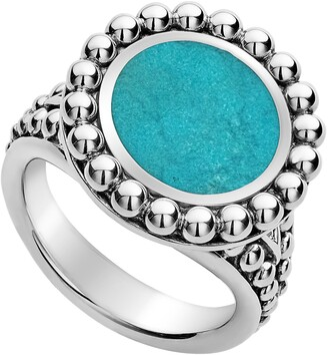 Lagos Maya Small Circle Ring