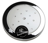 Taylor Madison Compact Mirror - Round Pearl White