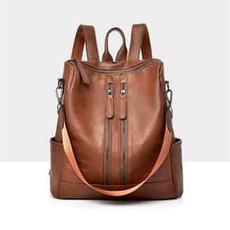 Kadell Women Girls School Leather Backpack Travel Handbag Rucksack Shoulder Bag Tote