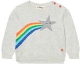The Bonnie Mob Shooting Star Rainbow Intarsia Sweater