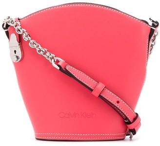 Calvin Klein Small Logo Bucket Bag
