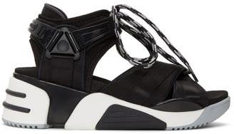 Marc Jacobs Black Somewhere Sport Sandals