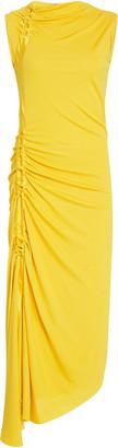 Sies Marjan Fontana Side-Ruched Jersey Dress