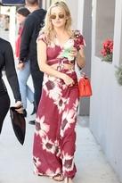 Flynn Skye Wrap It Up Skirt in Ruby Bloom
