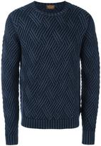 Tod's frosted effect jumper
