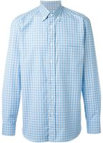 Brioni checked shirt - men - Cotton - S