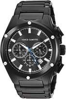 Vince Camuto Men's VC/1065BKBK Multi-Function Dial Bracelet Watch