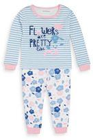 Petit Lem Baby's Flowers Are Pretty Cotton Pajamas