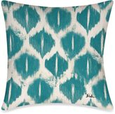 Bed Bath & Beyond Colored IKats 3 Square Outdoor Throw Pillow in Blue